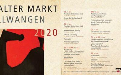 Kalter Markt 2020 vom 11. bis 15. Januar in Ellwangen