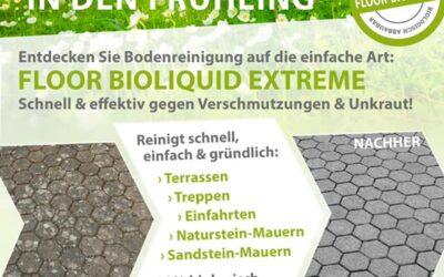 Mit unserem Steinreiniger Floor Bioliquid Extrem Terrassen, …
