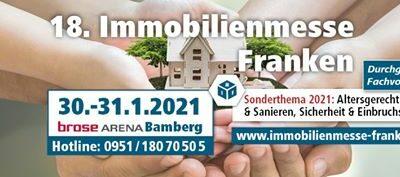 Vom 25.01. – 26.01. sind wir auf der Immobilienmesse Franken…