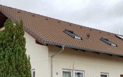 Wieder ein super sauberes Dach in Baindt und ein zufriedener…
