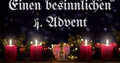 Wir wünschen euch allen einen schönen 4. Advent und einen gu…