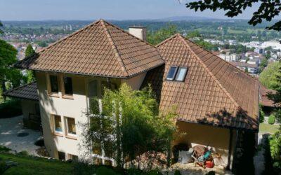 Haus vor einem Jahr ein Tonziegel in Ravensburg mit unsere…