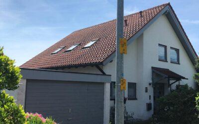 Heute war unser Team in Biberach bei einem Einfamilienhaus m…