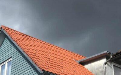 Huch schon wieder ein sauberes Dach in Leutkirch   Wollt i…