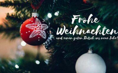Wir wünschen euch allen schöne Weihnachten und ein schönes…